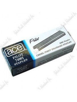 "ACE 74001 staples 1/4""  / box / 5000"