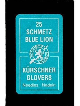 Schmetz Blue Lion glover needles (pack / 25)