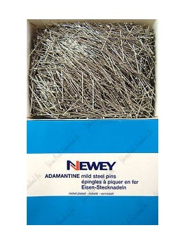 Newey adamantine mild steel pins ( / 500 gr. / box)