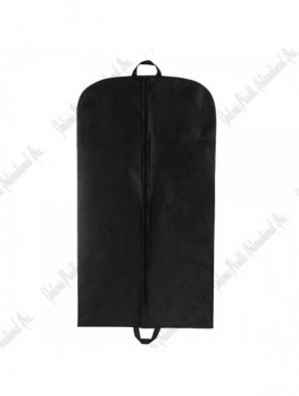 Fur garment bag / black