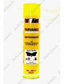 Parvanex insecticidal moth spray